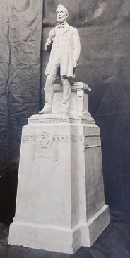 Plaster Cast of Proposed Lincoln Statue