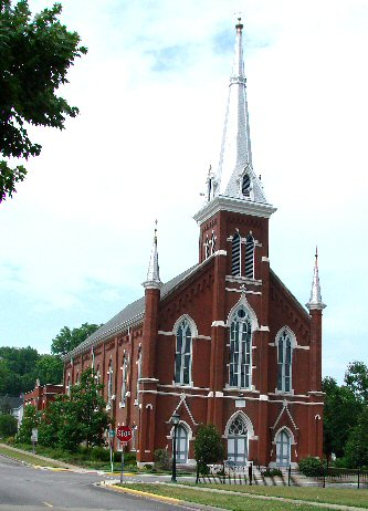 Salem United Church of Christ in Huntingburg, Indiana