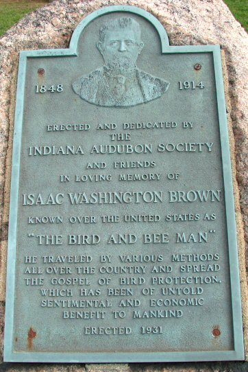 Isaac Washington Brown Plaque